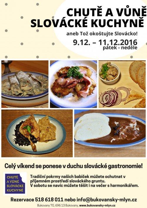 Chutě a vůně slovácké kuchyně