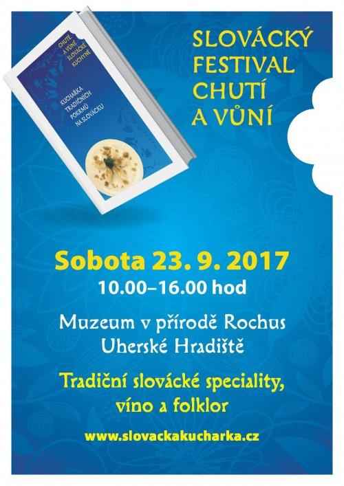 Slovácký festival chutí a vůní 23.9. 2017