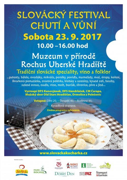 Slovácký festival chutí a vůní opět v Muzeu v přírodě Rochus