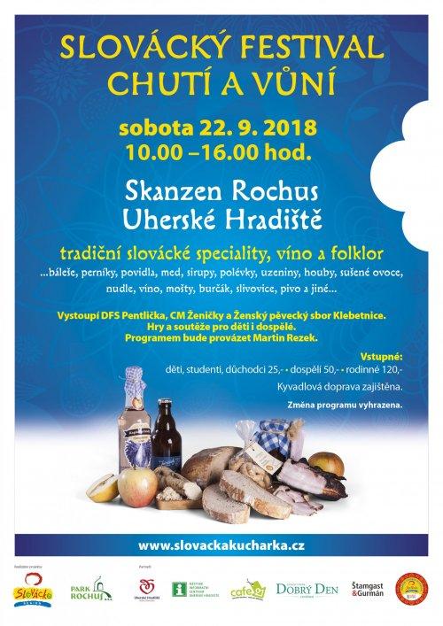 Slovácký festival chutí a vůní 22. 9. 2018