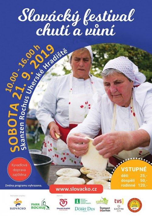 Slovácký festival chutí a vůní 21. 9. 2019