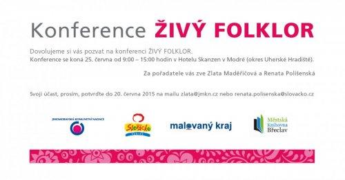 Konference Živý folklor