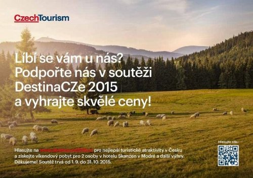 Hlasujte v soutěži DestinaCZe 2015 pro Slovácko